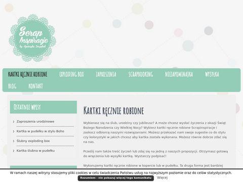 S11.pl zaproszenia ręcznie robione