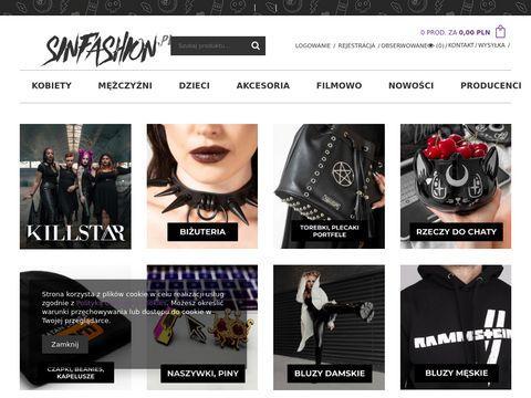Sinfashion.pl koszulki metalowe