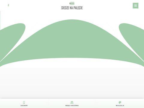 Siedzenapalecie.pl meble ogrodowe wynajem