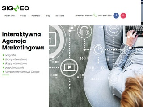 Sigmeo.pl tworzenie stron internetowych Poznań