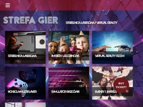 Shootertarnow.pl strzelnica laserowa