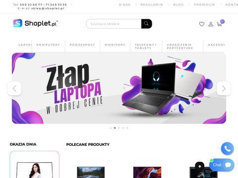 M. Caliński komputery firmy Fujitsu