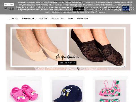 Sklep.yoclub.pl ubranka dla niemowląt