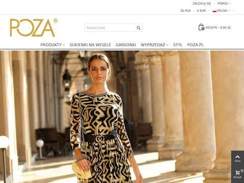 Sklep.poza.pl eleganckie sukienki