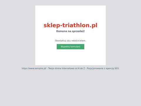 Sklep-triathlon.pl akcesoria pływackie Arena Szczecin