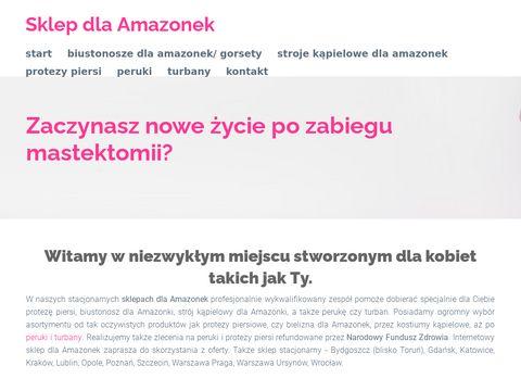 Sklepamazonka.pl biustonosz