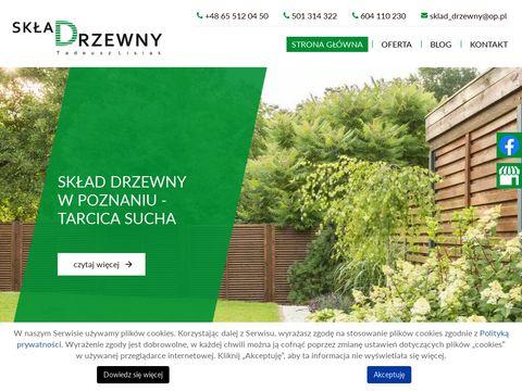 Sklad-drzewny.pl tartak Poznań