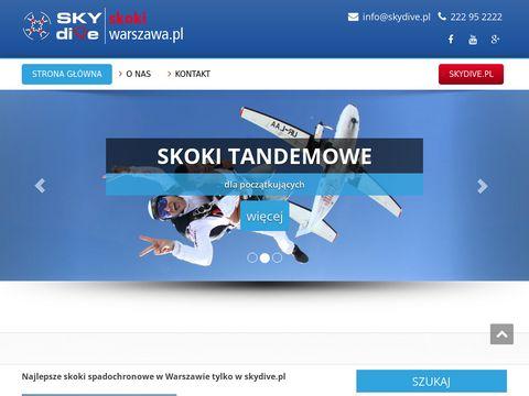 Skokiwarszawa.pl - skoki tandemowe