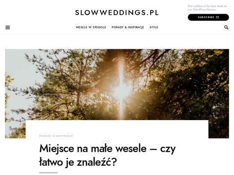 Slowweddings.pl ślub w plenerze Warszawa