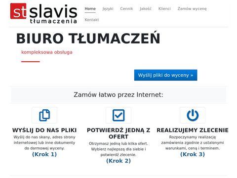 Slavis.net - tłumaczenia