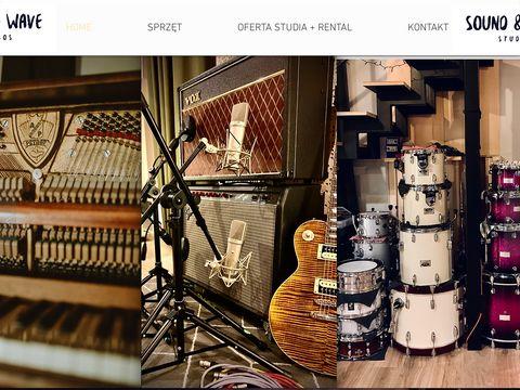 Soundandwave.pl studio nagrań Warszawa