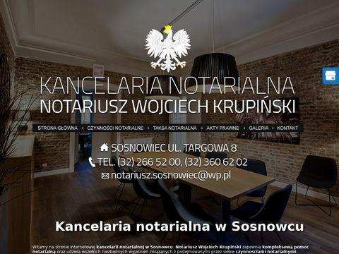 Krupiński Wojciech kancelarie notarialne