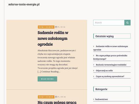 Solarus-tania-energia.pl Turbina wiatrowa