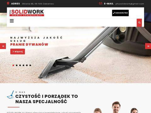 Solidwork.pl sprzątanie obiektów