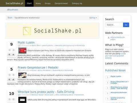 Socialshake.pl kobiecy blog