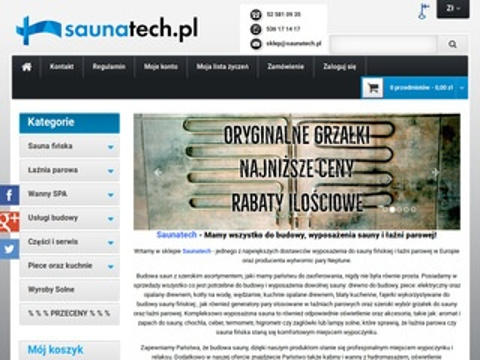 Saunatech.pl budowa sauny fińskiej