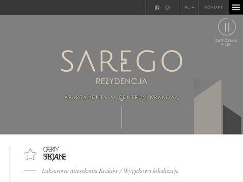 Saregorezydencja.pl ekskluzywne apartamenty Kraków