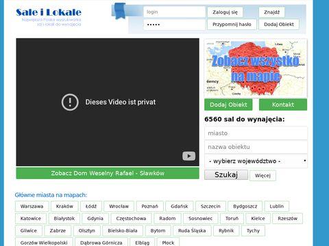 Saleilokale.pl - Wesela Chrzciny Komunie