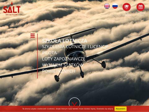 Salt Aviation - licencja pilota