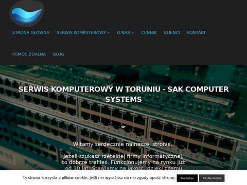 Sak.pc.pl serwis komputerów oraz laptopów Toruń