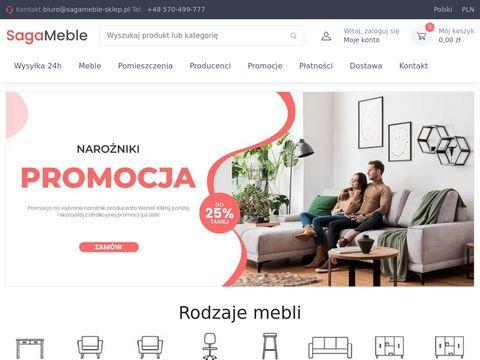 Sagameble-sklep.pl tapicerowane