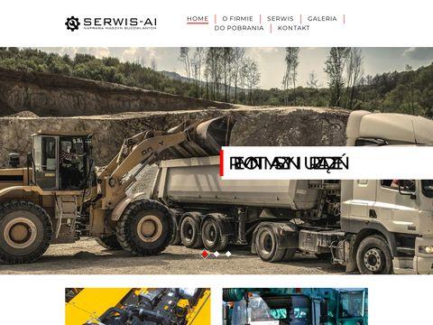 Serwis-ai.pl wypożyczalnia maszyn budowlanych