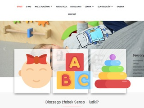 Sensoludki.pl żłobek integracja sensoryczna