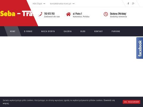 Seba-Trans usługi transportowe