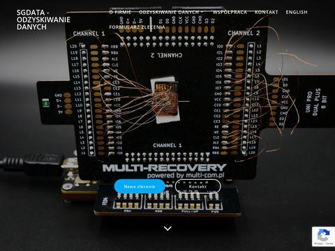 SGdata - odzyskiwanie danych z dysku