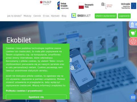 Ekobilet - system sprzedaży biletów