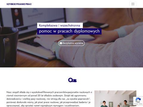 Szybkiepisanieprac.pl