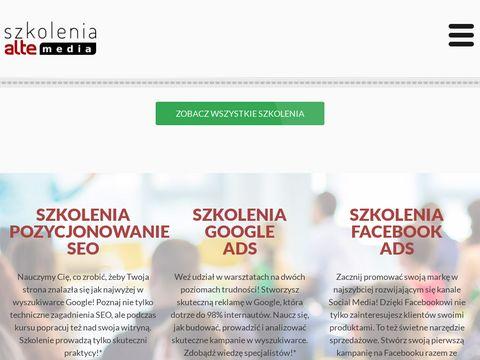Szkolenia.altemedia.pl