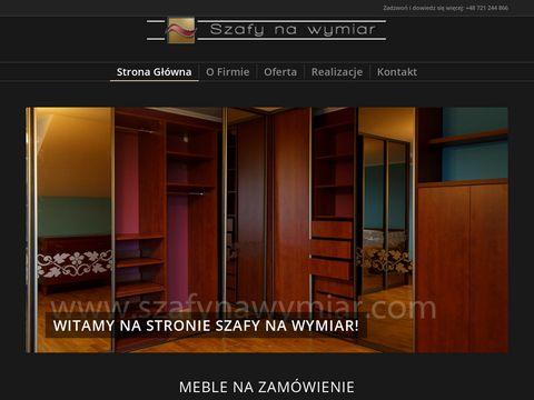 Szafynawymiar.com na zamówienie Warszawa