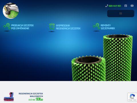 Szczotki-techniczne.net do mycia butelek plastikowych