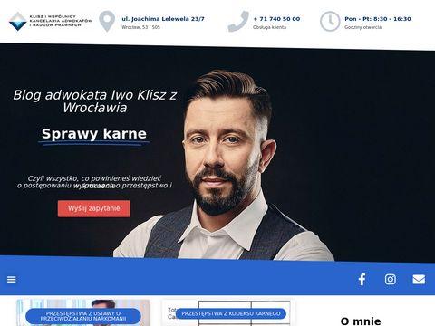 Sprawy-karne.biz.pl - adwokat Wrocław