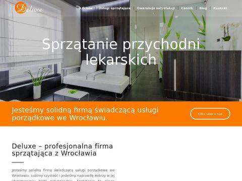 Sprzataniedeluxe.pl uslugi porzadkowe we Wroclawiu