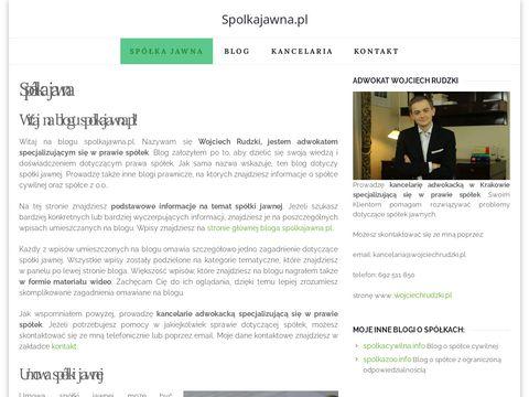 Spolkajawna.pl Informacje o spółce jawnej