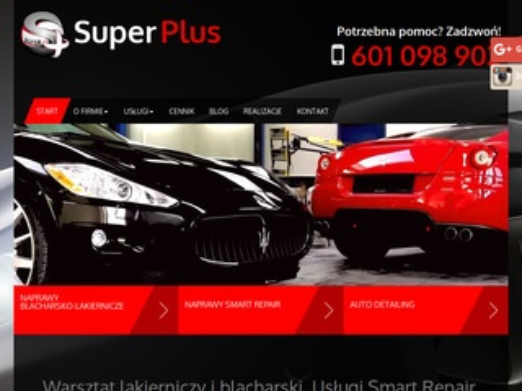 Super Plus lakierowanie aut Warszawa