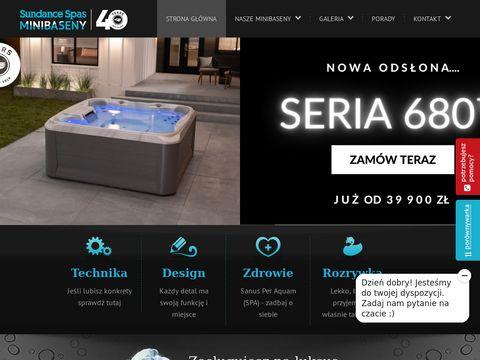 Sundance.pl - minibaseny, wanny spa