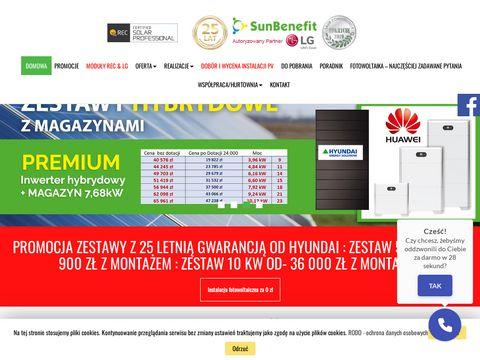 Sunbenefit.pl zestawy fotowoltaiczne Bielsko