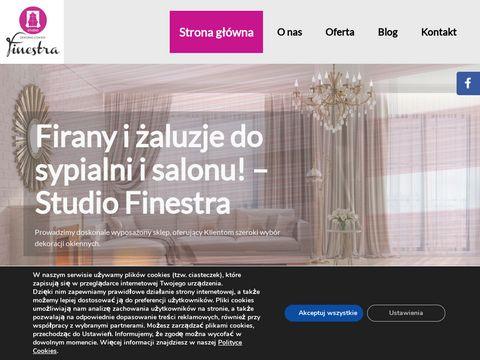 Studio Finestra projekty dekoracji
