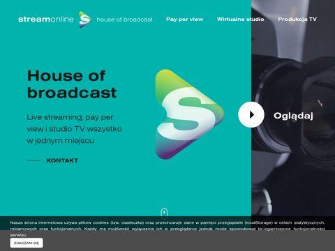 Streamonline.pl transmisje
