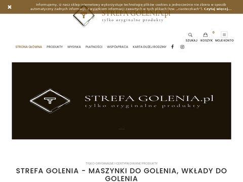 Strefagolenia.pl maszynki Wilkinson