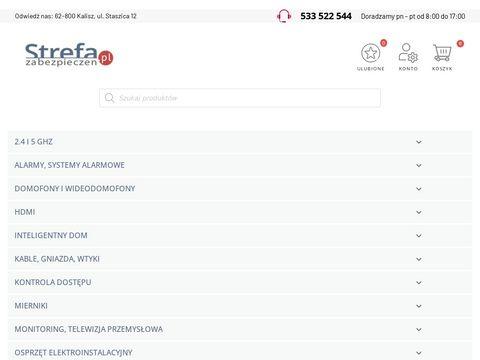 Strefazabezpieczen.pl kamery sklep Kalisz