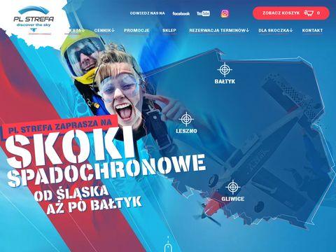 Strefa Silesia - skoki spadochronowe