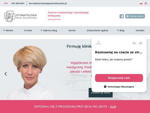 Stomatologiaswiatkowska.pl chirurg Kraków