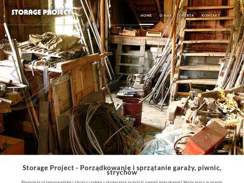 Storage Projekt - sprzątanie strychów