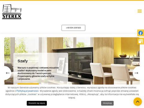 Sterex szafy Zielona Góra