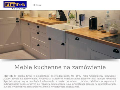 PimTek kuchnie na wymiar Warszawa
