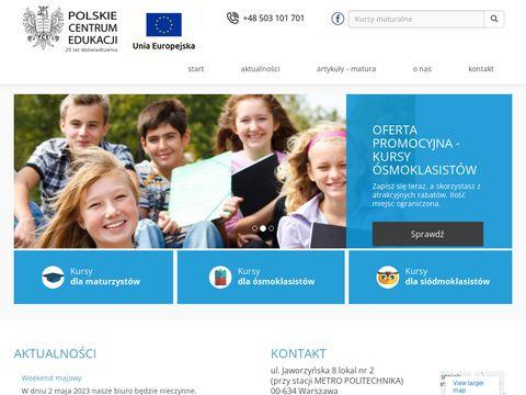 Pl.edu.pl przygotowanie do matury
